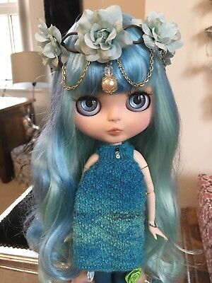 "Custom Factory OOAK Blythe Doll ""Anemone"" by Dollypunk21"