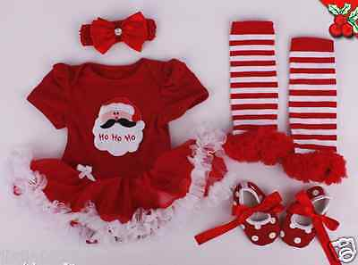 "22"" Reborn Clothing Sets For newborn Doll Baby Girl Lace Dress Handmade Xmas hot"
