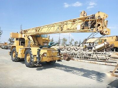 30 Ton Grove RT63S Hydraulic Mobile rough Terrain crane