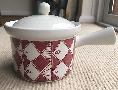 Vintage Rorstrand Frisco Lidded Casserole by  Marianne Westman approx 1.2L Cap.