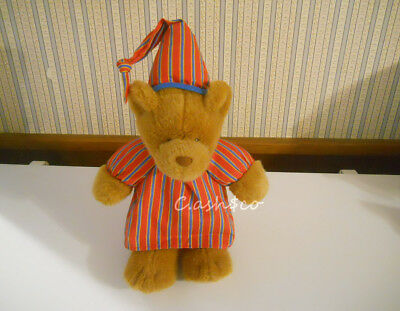 "Avon Sherman singing Teddy Bear 16""  plush stuffed Bedtime song WORKS      E8"