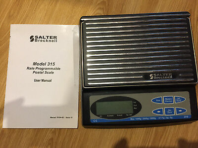 Salter Brecknell 315 scales for postal services etc