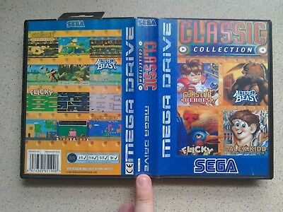 Classic Collection EMPTY BOX ONLY - For Sega Mega Drive Game (PAL)
