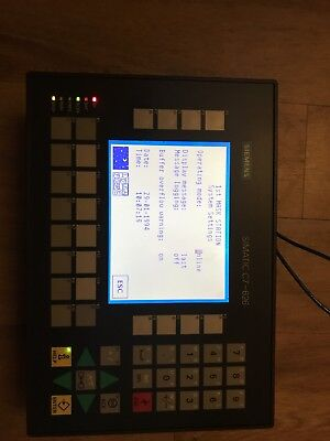 Siemens C7-626 / P DP, HMI, Operator Interface. 6ES7626-2DG04-0AE3