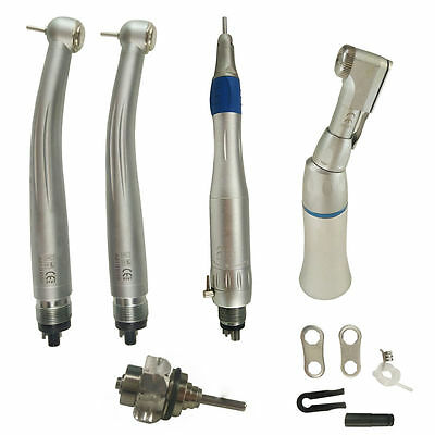 NSK PANA Dental Fast High Speed Handpiece 4 Hole Standard Head Push Button DE