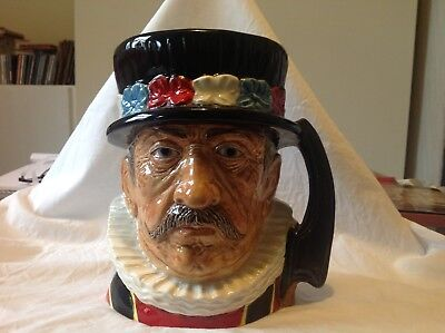 Toby Jug of a Yeoman Warder by Royce Wood.