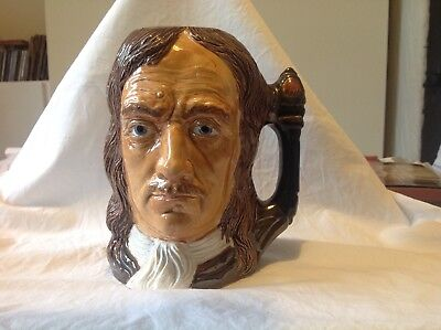 Toby Jug of Oliver Cromwell by Royce Wood.