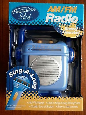 Australian Idol Sing-A-Long Am/fm Radio Still Sealed