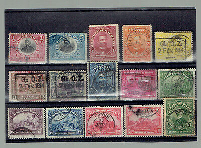 nice set old Haiti stamps