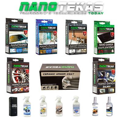 NANOPRO Nano Coating 9h For Paint Ceramic Glass Shoes Textile Car Cabrio