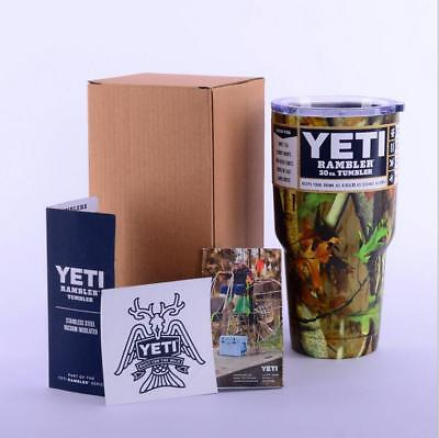 1PCS Yeti 30 oz Tumbler Rambler Coffee Mug Cup Free Shipping HA-01