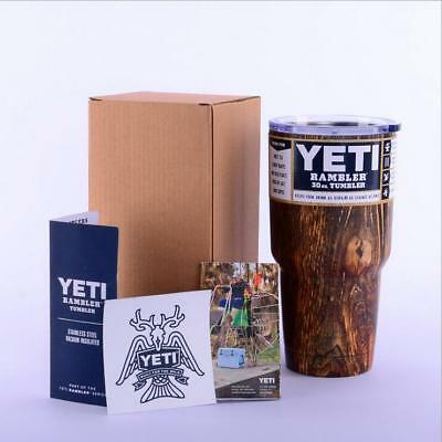 1PCS Yeti 30 oz Tumbler Rambler Coffee Mug Cup Free Shipping HA-02