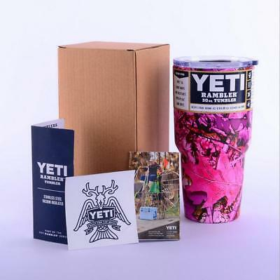 1PCS Yeti 30 oz Tumbler Rambler Coffee Mug Cup Free Shipping HA-03