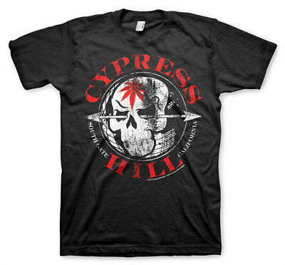 Cypress Hill South Gate California Los Angeles Skull Hip Hop Männer Men T-Shirt