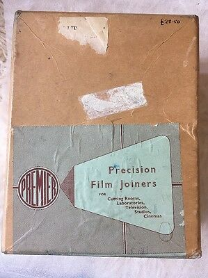 Premier Film Joiner 16/8 mm - De Luxe Model, with automatic film scraper