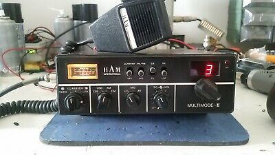 Radio Cb Ham International Multimode-Ii 120Ch Am Fm Ssb All Mode Completo
