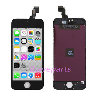 For Apple iPhone 5C LCD Digitizer Display Touch Screen Repair Replacement Black