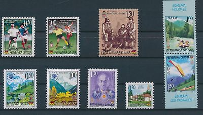 LH23672 Serbia nice lot of good stamps MNH