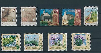 LH23675 Serbia nice lot of good stamps MNH