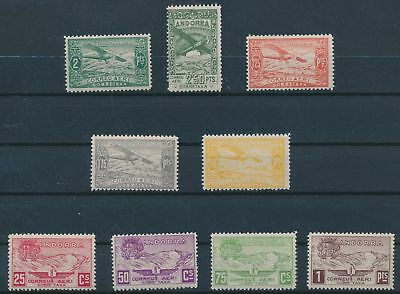 LH23717 Andorra air mail taxation stamps fine lot MNH