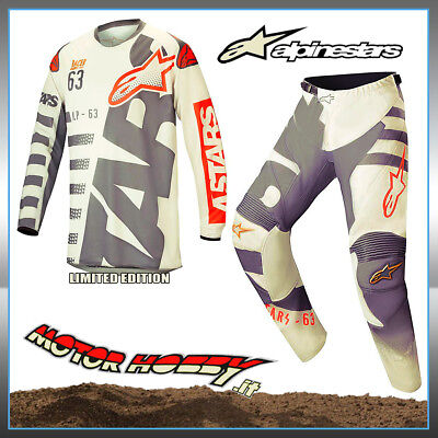 Completo Cross Enduro Alpinestars Racer Braap Blackjack Limited E.2018  M - 32