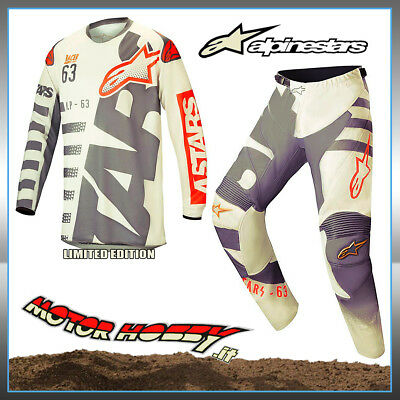 Completo Cross Enduro Alpinestars Racer Braap Blackjack Limited E.2018  L - 32
