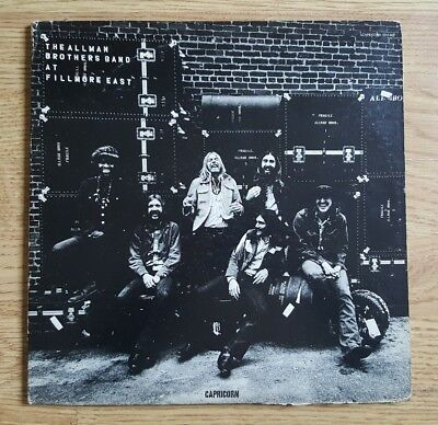 The Allman Brothers Band - At Fillmore East original 1971 double vinyl LP
