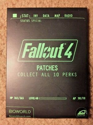 Fallout 4 Iron On Patch Blind Pack - Bioworld Officially Licensed