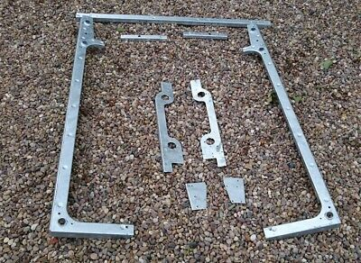 land rover defender galvanised body cappings