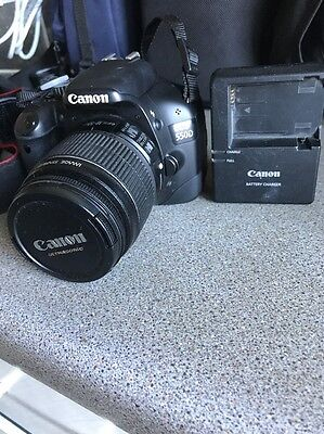 Canon EOS 550D 18.0MP Digital SLR Camera - Black (Kit w/ 18-55mm Lens)