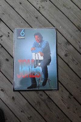 Tom Jones Kalender 1996,ovp in Folie, 42 x 30 cm Posterkalender