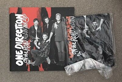 One Direction Tour Programme And Shirt