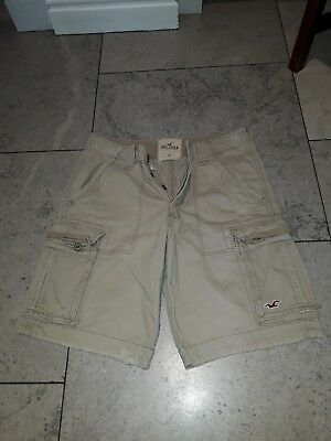 hollister cargo shorts w32