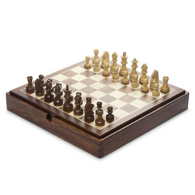NEW Italfama Wooden Magnetic Complete Chess Set