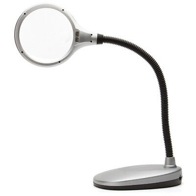NEW TechniCOOL Multiflex LED Desktop Magnifier Lamp