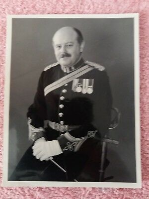 Captain M J Henderson director of music Royal Army Ordanance corps photo