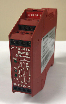 Allen-Bradley MSR127R  440R-N23129 Safety-Relay Series C
