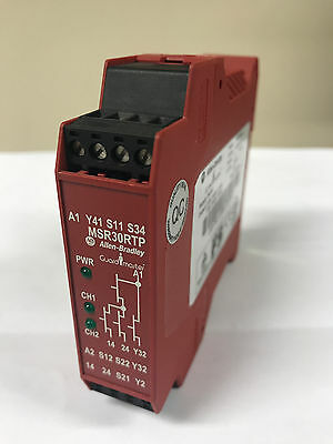 Allen Bradley Guardmaster MSR30RTP 440R-N23198 Ser A Safety Relay