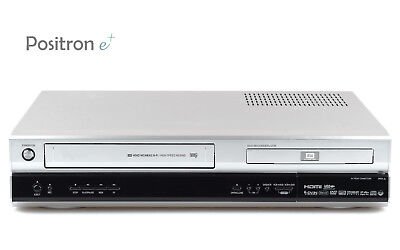 LG VHS Video Recorder/DVD-Recorder Combination + RC, Serviced, 1 YEAR WARRANTY