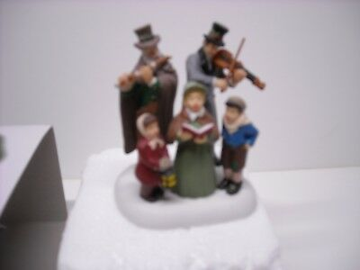 Dept 56 Dickens Village  Dickens Corolers  W/box Free Shipping 807230