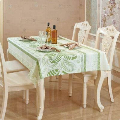 Home Restaurant Plastic Tablecloth Table Cloth Cover Tableware Mat 1*1.5M  1x 5x