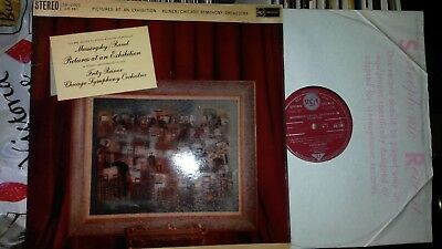 SB 2001 Mussorgorsky PICTURES At EXHIBITION Reiner UK 1st RCA Living Stereo EX