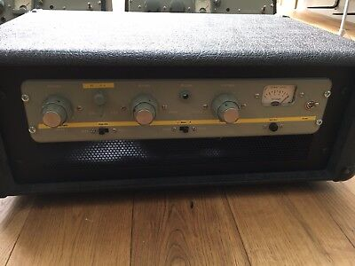 vintage preamp 2 Channel 1960s Abbey Road portable with handles