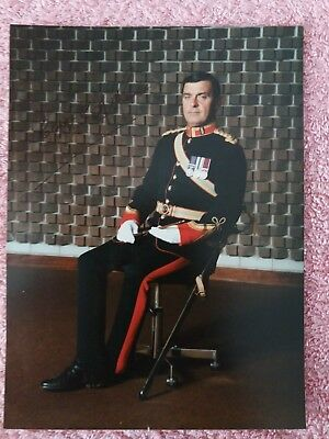 Captain Cliff Ross Director of Music REME Band signed photo