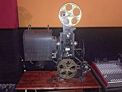 35mm Moviola Editors Preview Projector Circa 1920'S Museum Quality Rare & Unique