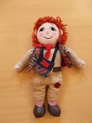 """Vintage Jim Doll From Rosie And Jim 10"""" Soft Ragdoll Plush Toy Born To Play 1999"""