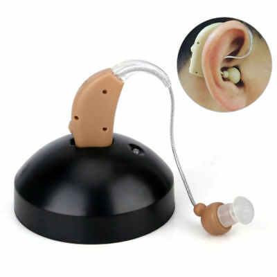 US Rechargeable Digital BTE Hearing Aids Device Sound Amplifier Behind The Ear