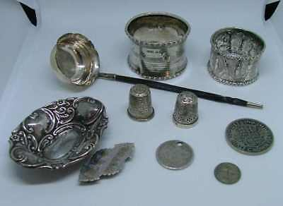 job lot scrap and usable silver