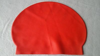 swim pool  cap / hat red  available  new latex
