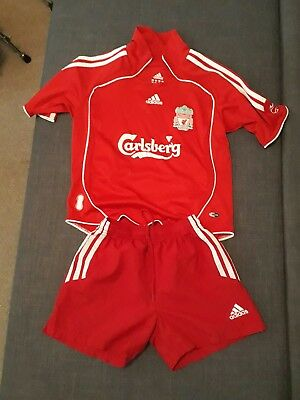 kids football kit. Liverpool.